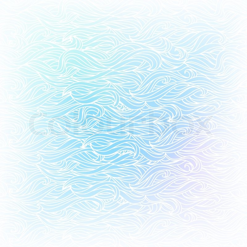 seamless abstract vector light blue white color handdrawn