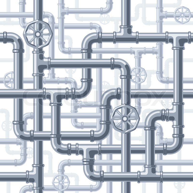 seamless pipes background eps8 cmyk organized by layers 4 global rh colourbox com vector pipeline canada vector pipeline jobs