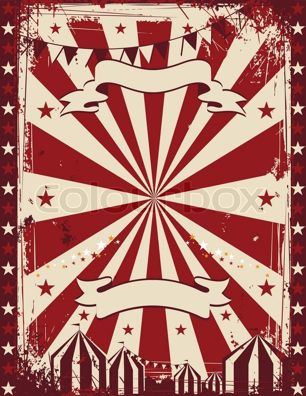 vintage circus poster background for advertising stock free circus clown clipart free clipart circus tent
