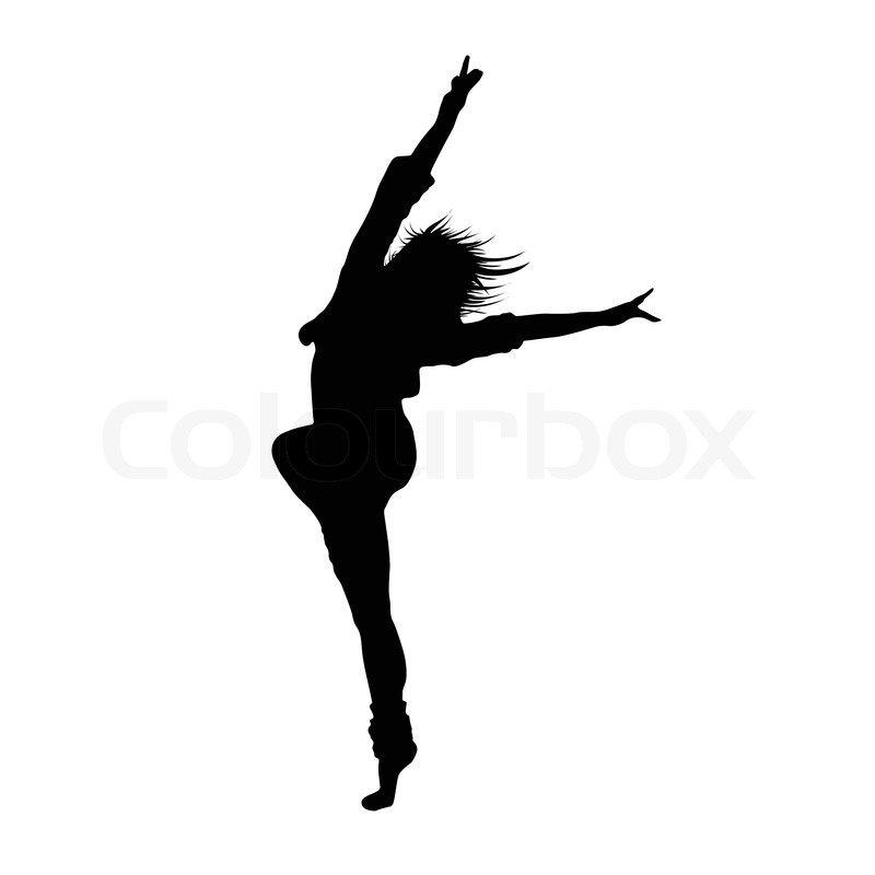 dancing girl silhouette - photo #28