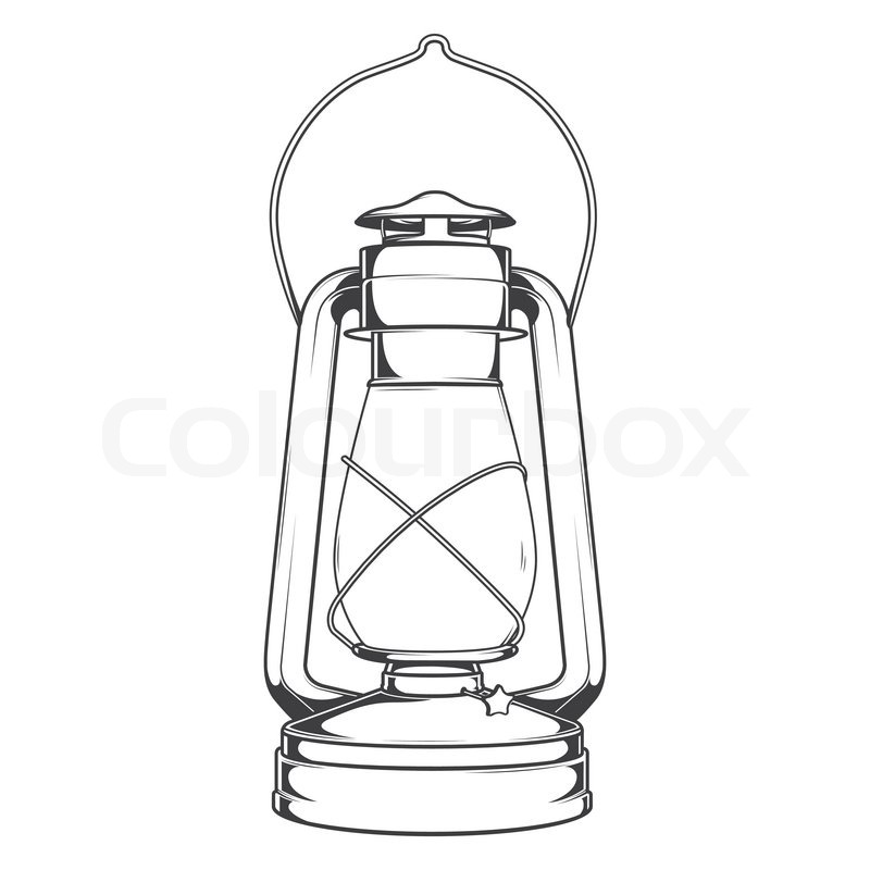 Image Gallery kerosene lantern drawing