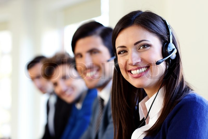 bank customer service call center
