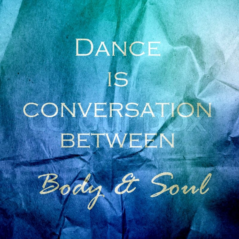 A Dialogue Between The Body And The Soul?