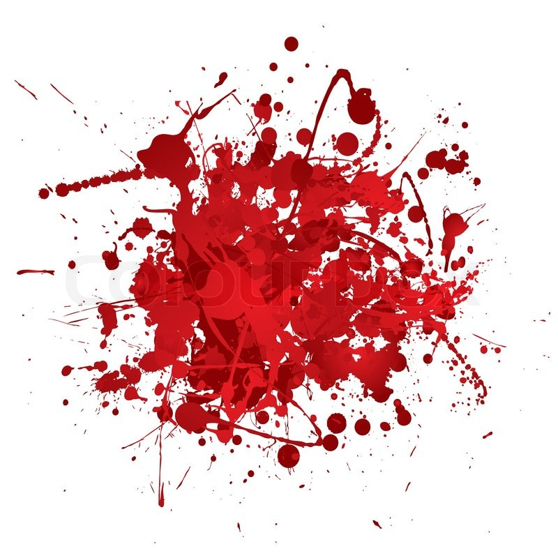 Blood Red Abstract Background With 3d Stock Vector