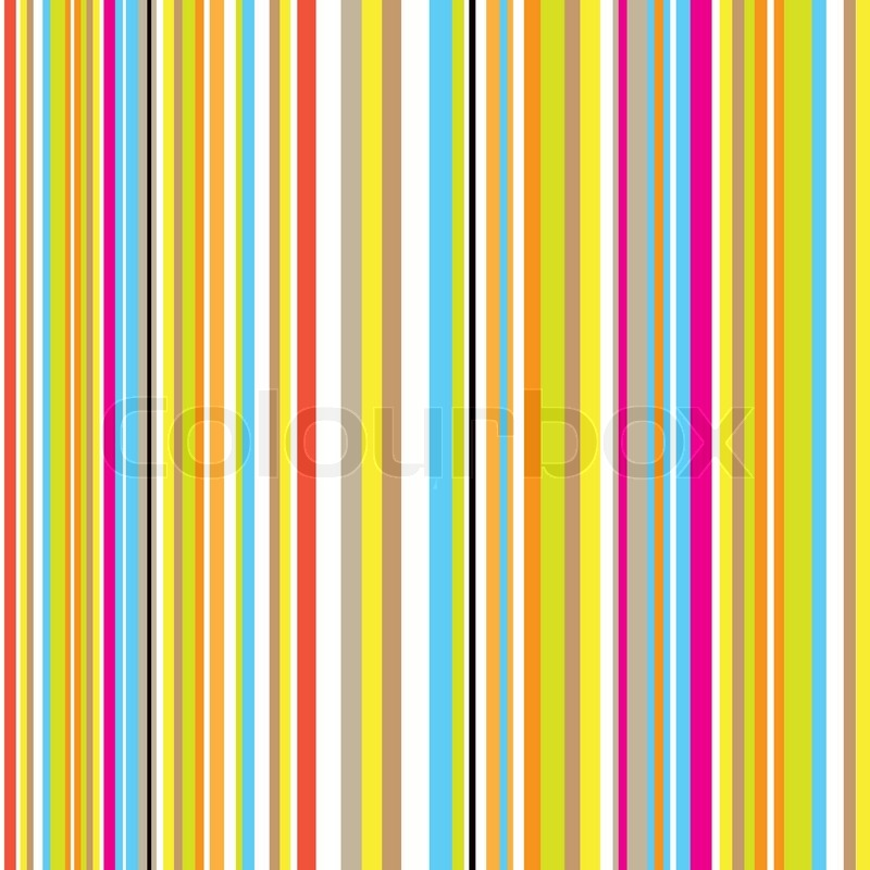 Candy Inspired Striped Background With Retro Effect With