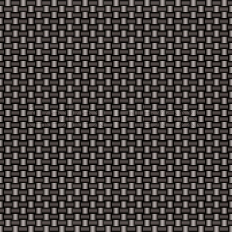 Silver Woven Carbon Fiber Background That Seamless Repeats