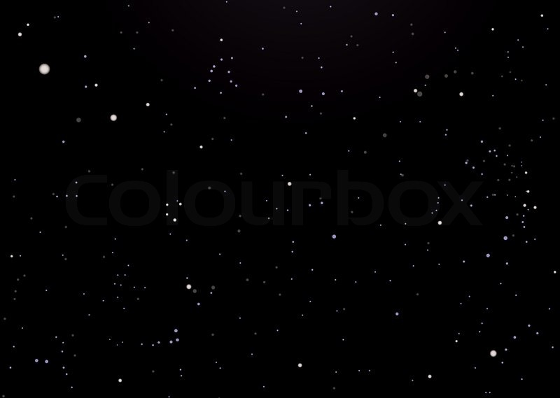 night sky background with glowing stars ideal desktop stock vector rh colourbox com watercolor night sky vector night sky vector free download