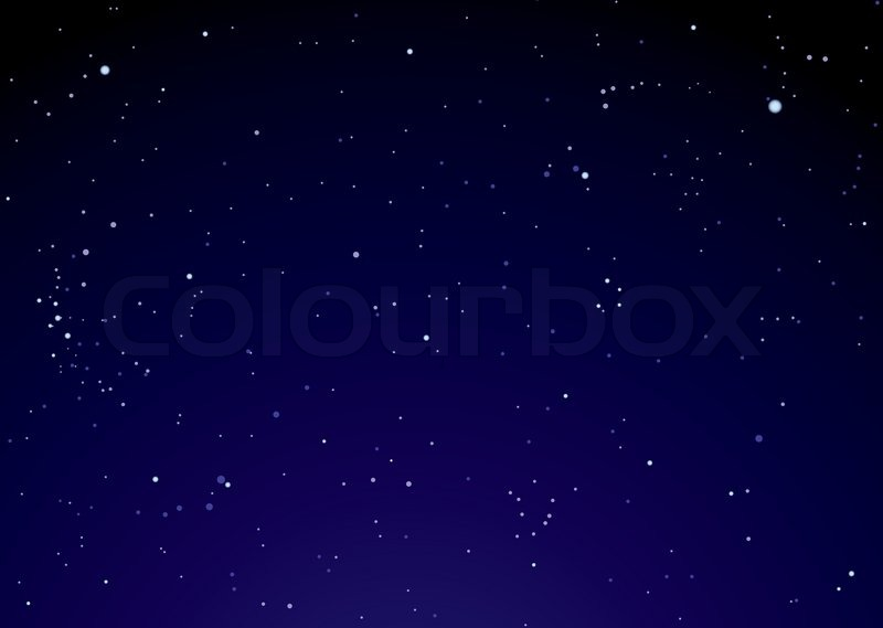 Dark nights sky with bright stars ideal background | Stock ...