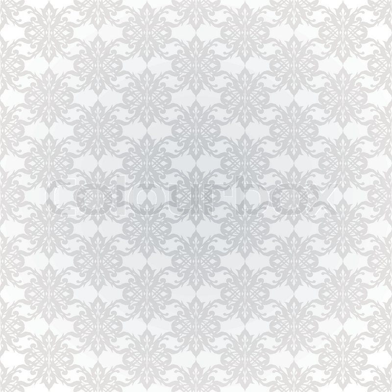white and grey seamless wallpaper with repeating design