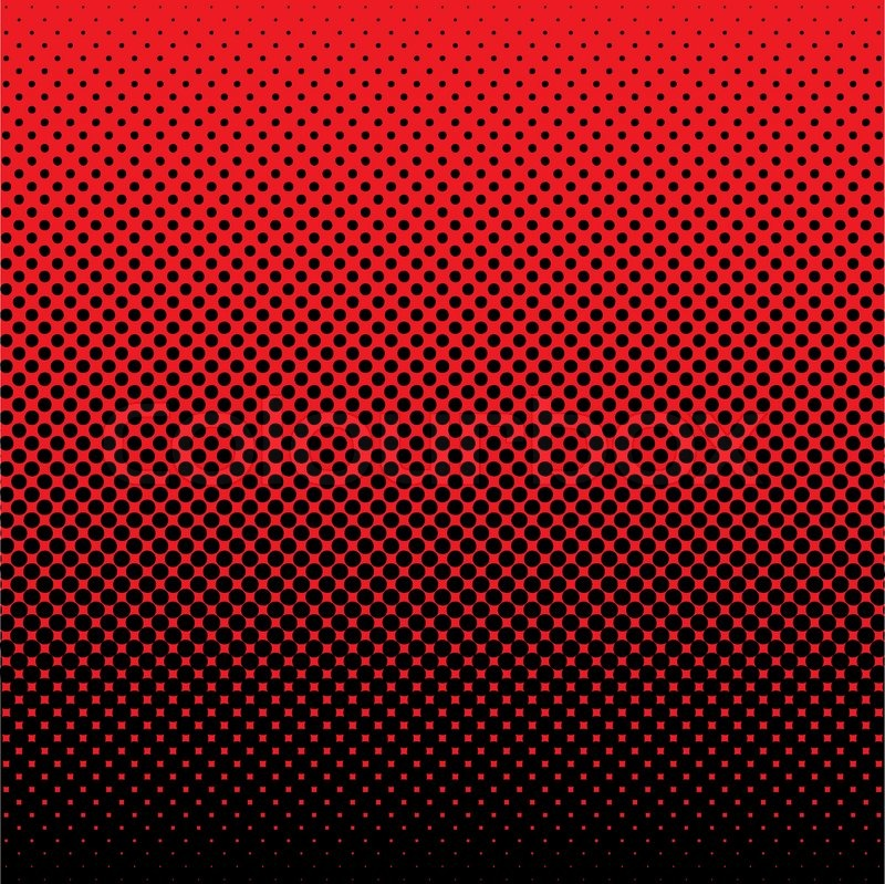 Red And Black Abstract Halftone Dot Background Ideal