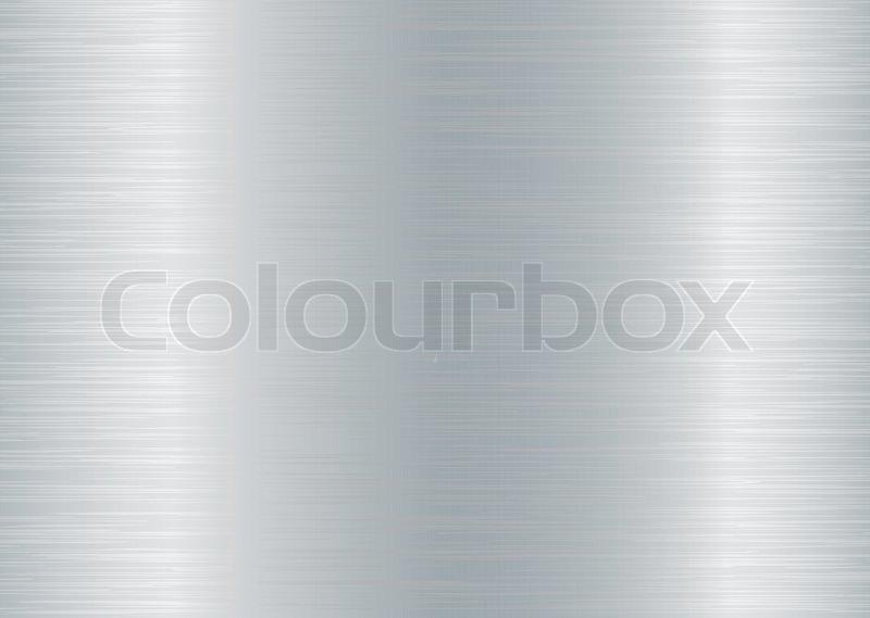 geb rstetem aluminium hintergrund mit effekt k rnung und farbe silber vektorgrafik colourbox. Black Bedroom Furniture Sets. Home Design Ideas