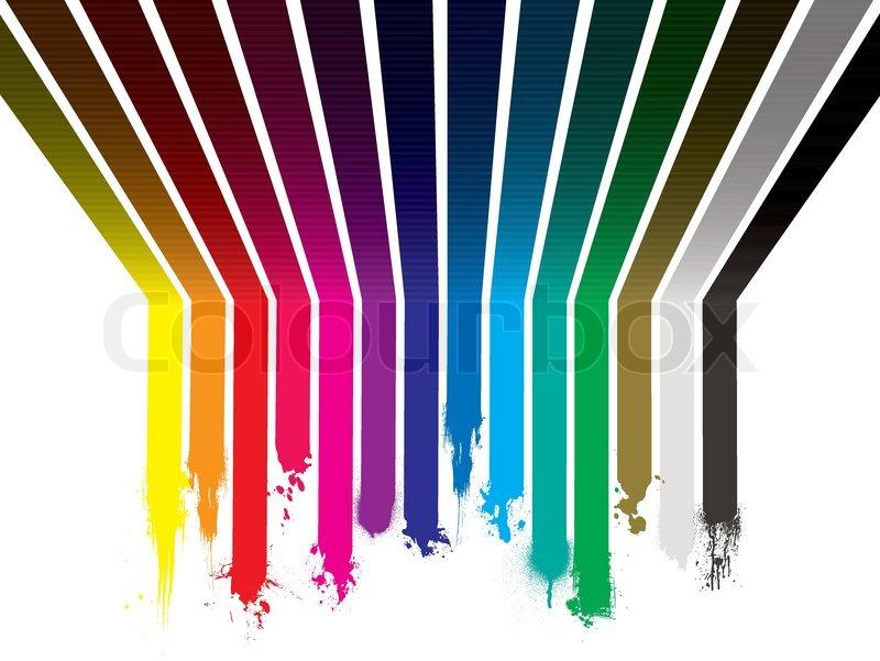 helle bunter regenbogen malen explosion mit streifen gemalt auf der wand und decke. Black Bedroom Furniture Sets. Home Design Ideas