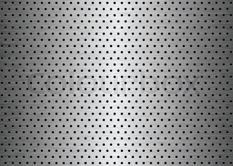 Geb 252 Rstetem Blech Platte Hintergrund Vektorgrafik