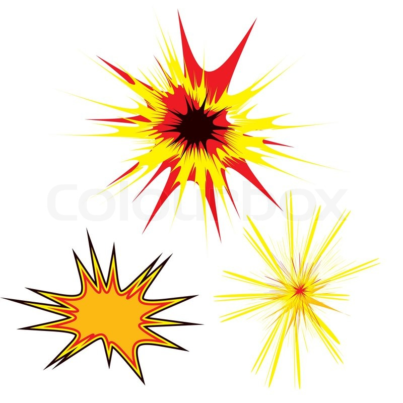 Three colored stars in a cartoon style with copy space ...