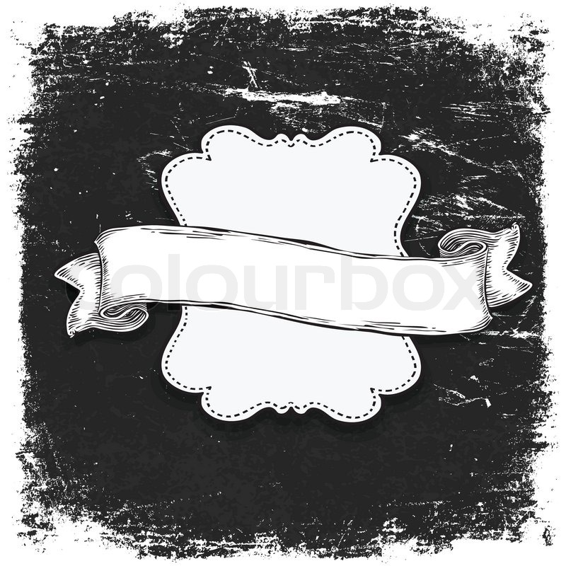 Black And White Banner Vector Black And White Banner