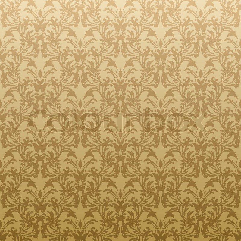 Schwarze Tapete Gl?nzend : Gold Floral Background Design