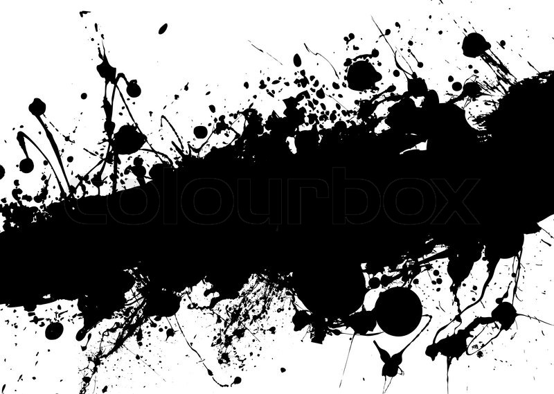 Black and white grunge image with room to add your own text stock vector colourbox