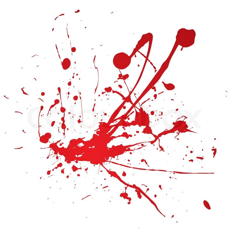 Blood Spray Splat Isolated Over A Stock Vector Colourbox Red paint splattered, blood icon, blood, texture, ink, text png. blood spray splat isolated over a