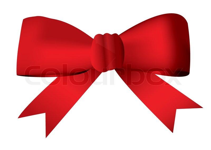 rote schleife bogen in einen knoten gebunden idealen geschenk und geschenk konzept. Black Bedroom Furniture Sets. Home Design Ideas