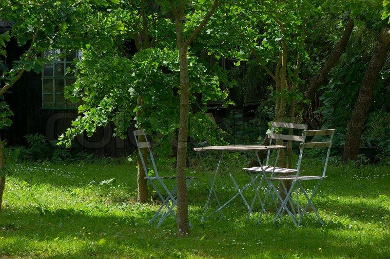 Green Landscape Romantic Nature Garden Outside