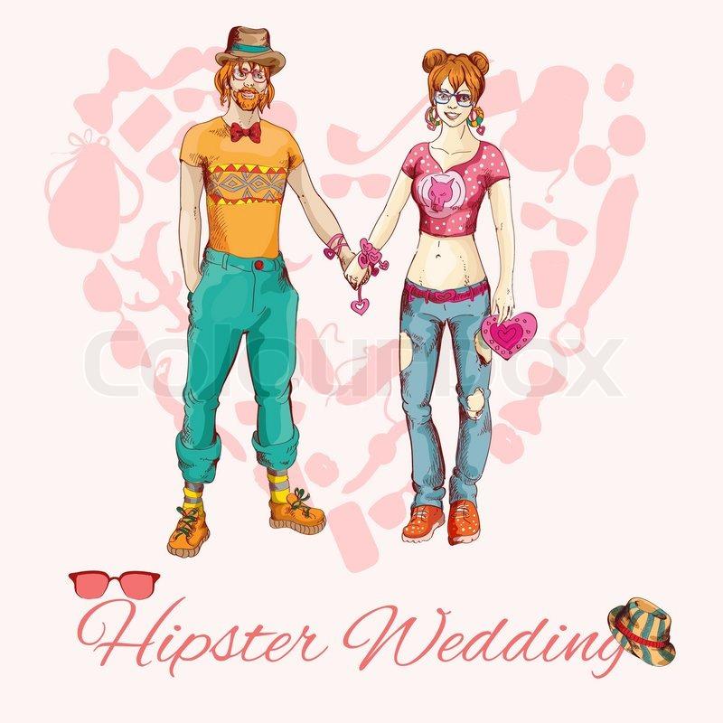Hipster Design Elements Fashion Design Elements in