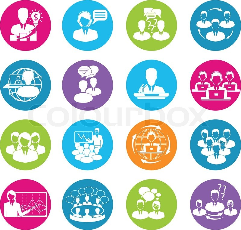 business meeting white round buttons icons set of teamwork handshake clipart png free handshake clipart no background