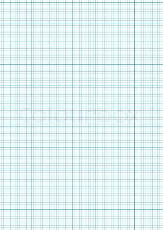 Math Concept With Sheet Of Blue Graph Paper Background  Stock