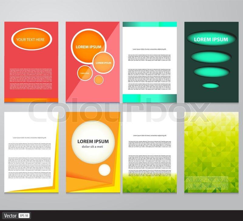 brochure background template