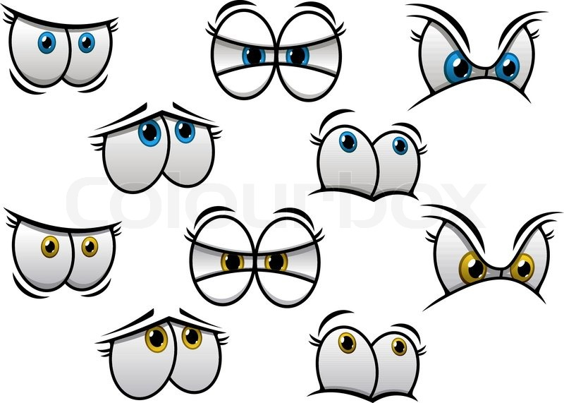 cartoon eyes with different emotions for comics and Surprised Mouth Clip Art Happy Surprised Clip Art