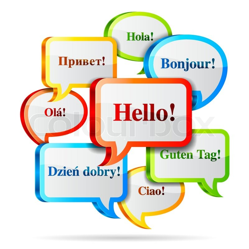how to say hi in 6 different languages
