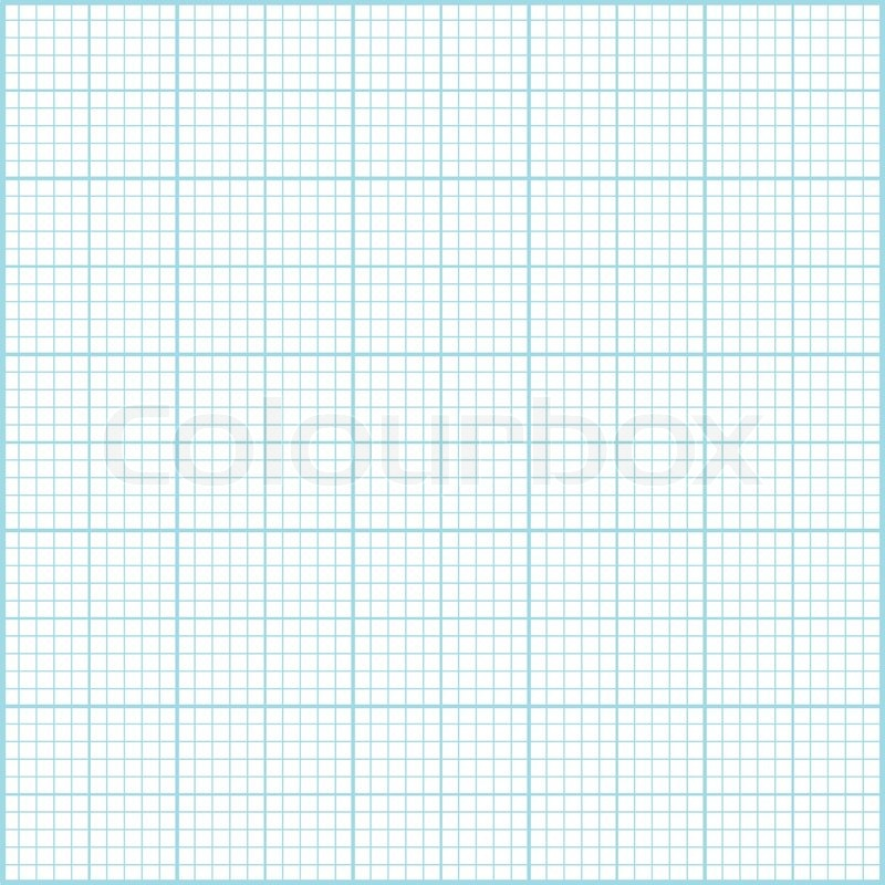 blue millimeter paper background square grid background vector
