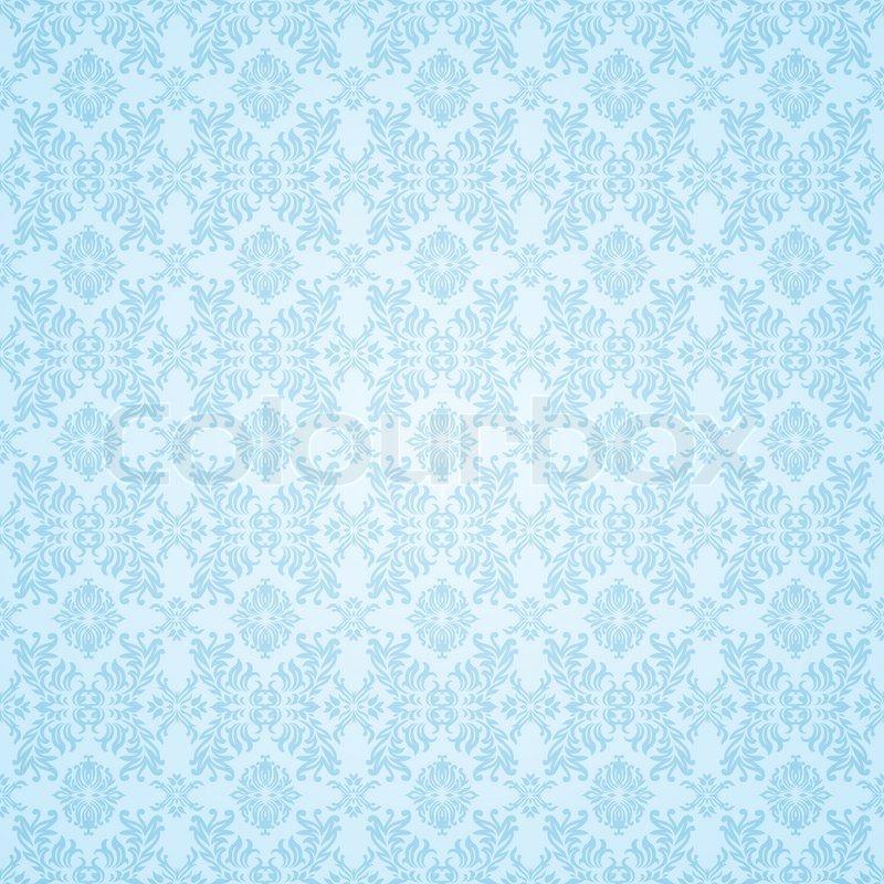 Pale blue subtle seamless background wallpaper pattern for Blue patterned wallpaper bedroom