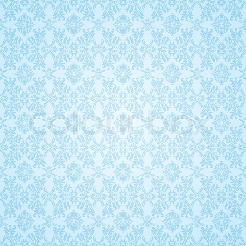 Blass blau feine nahtlose tapete hintergrundmuster for Tapete muster blau