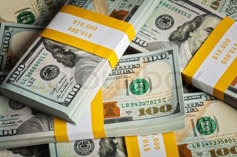 Creative Business Finance Making Money Concept