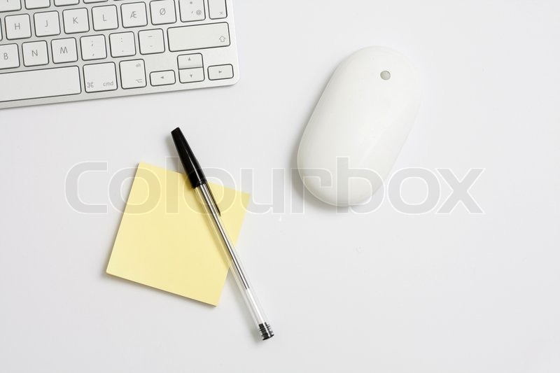 Stock image of 'Mouse and keyboard'