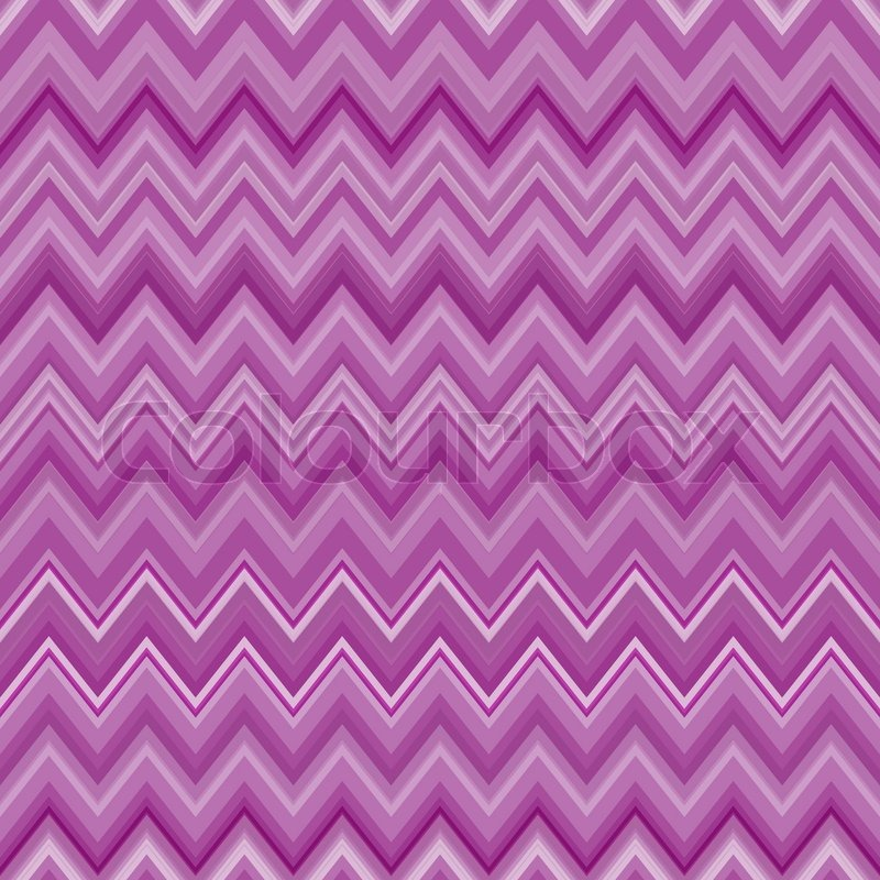 Cute Zig Zag Stripe Seamless Pattern Vector Illustration For