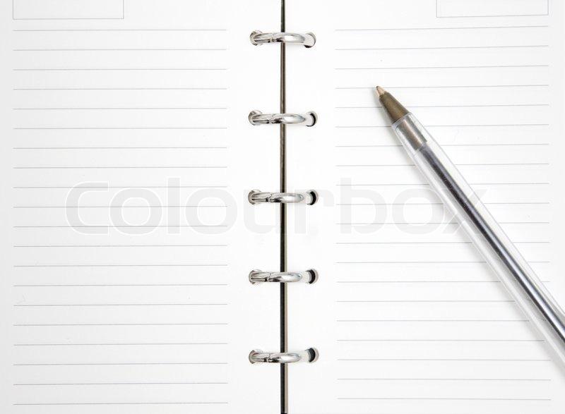 Agenda   Stock Photo   Colourbox