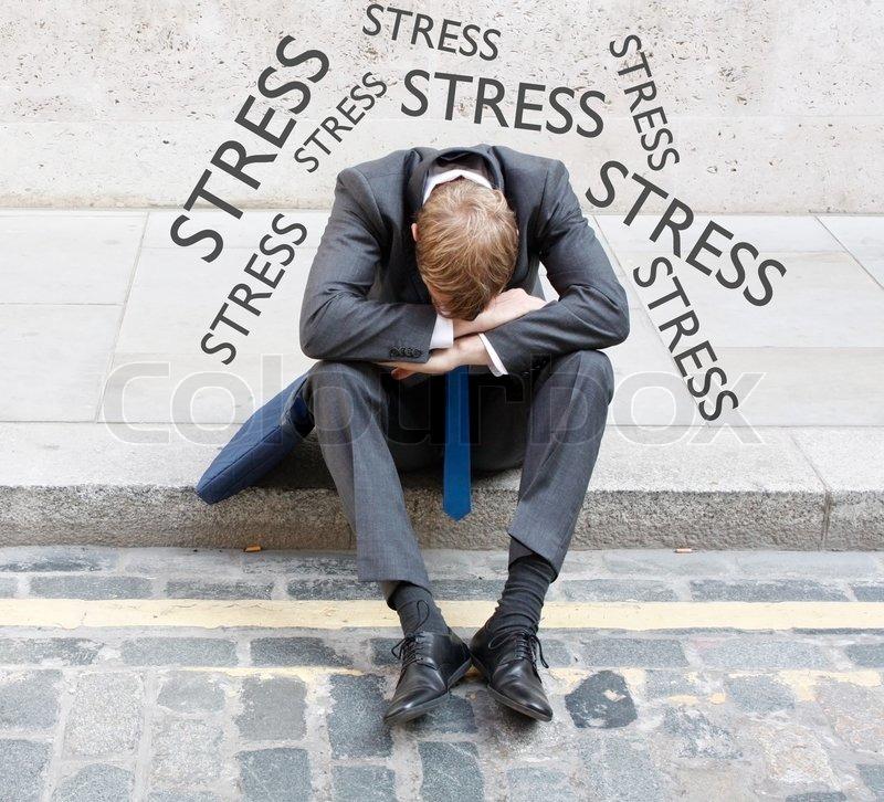Stress, stock photo