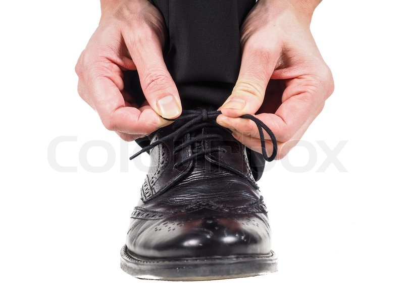 Laces Tying Shoes