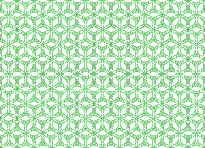Wallpaper Pattern On The White Background