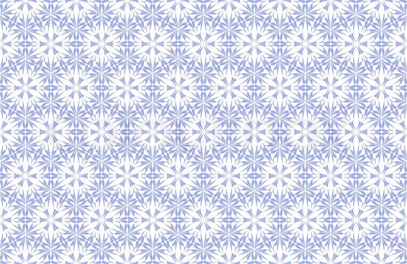 Wallpaper Pattern On The White Stock Photo Colourbox