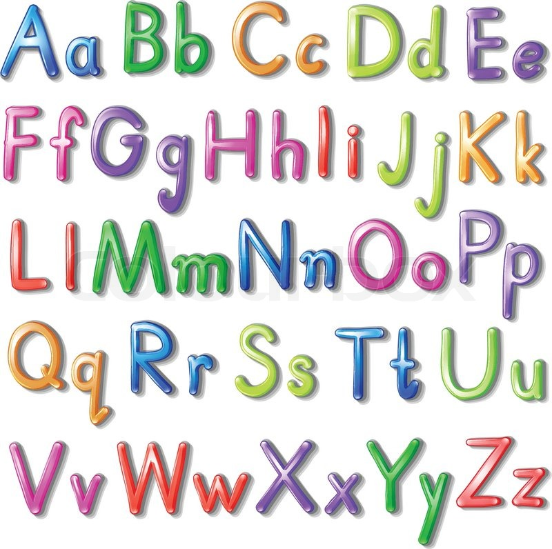 Box Drawing Alphabet Letters