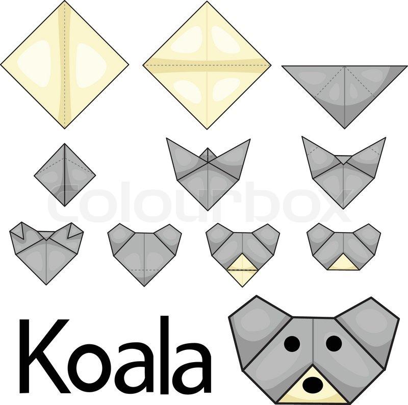 illustrator of koala face stock vector colourbox. Black Bedroom Furniture Sets. Home Design Ideas