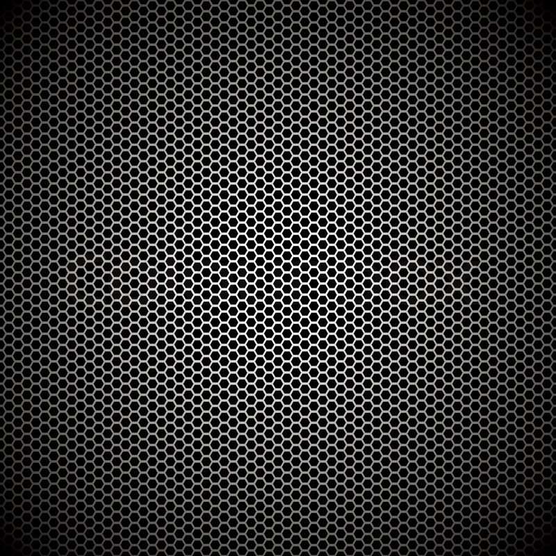 Metal Background Wallpaper Hexagon Metal Background With