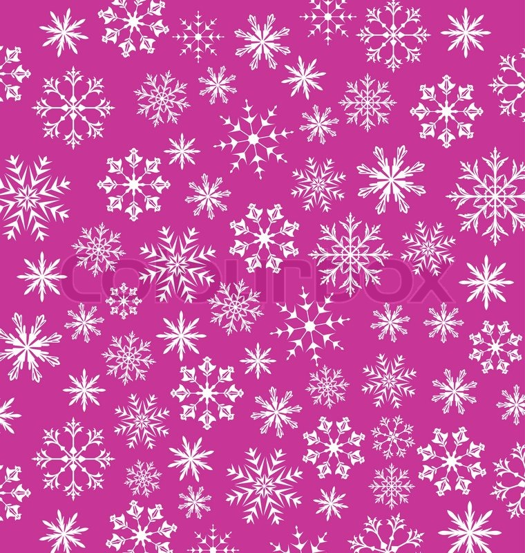 illustration noel pink wallpaper snowflakes texture