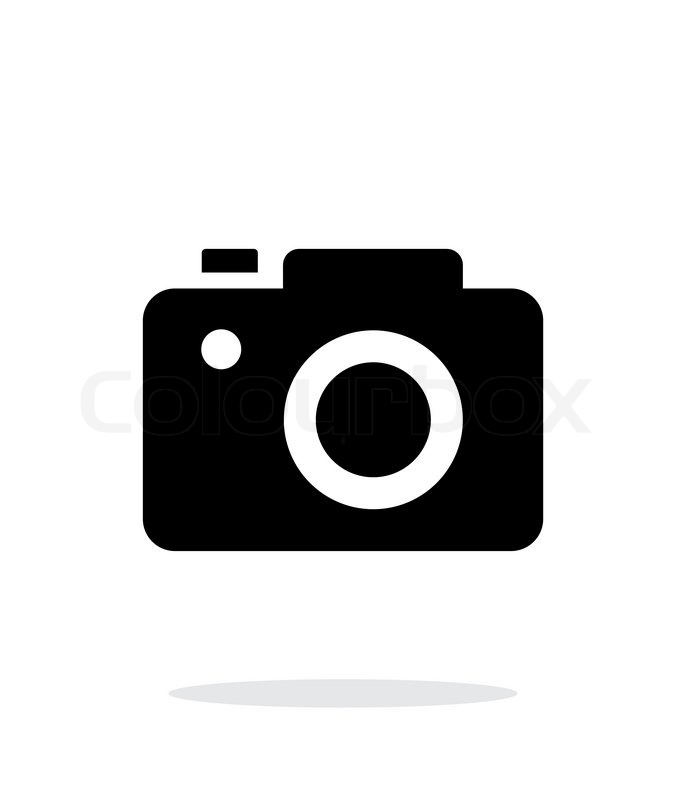 slr camera simple icon on white background vector illustration rh colourbox com photo camera vector icon photo camera vector icon
