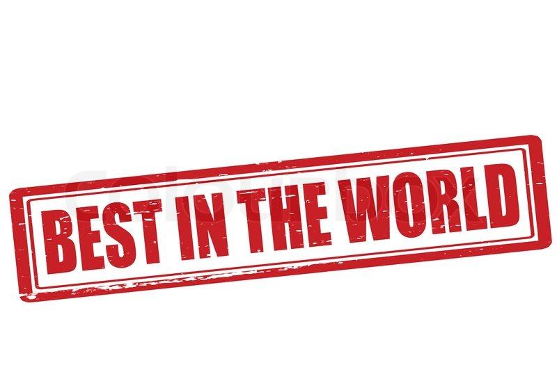 Best in the world logo
