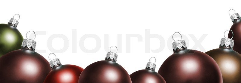 Stock image of 'Christmas ornament'