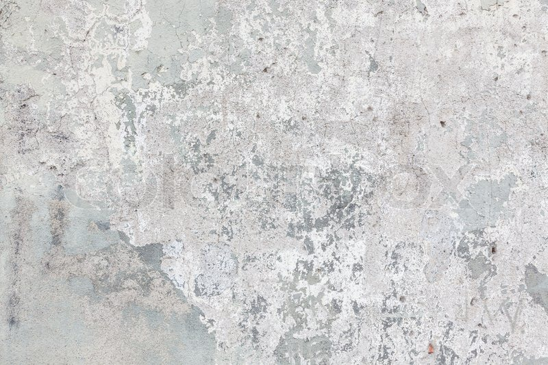 Worn old painted concrete wall texture Stock Photo Colourbox