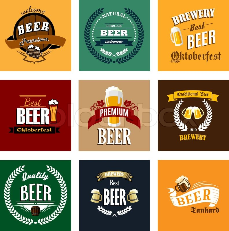 Old Fashioned Beer Ale Label Pictures